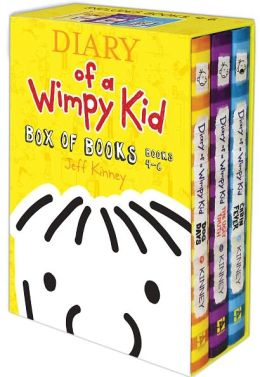 Diary of a Wimpy Kid Box of Books (4-6)