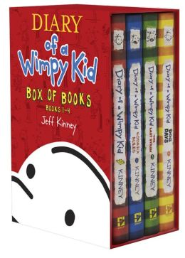 Diary of a Wimpy Kid Box of Books (1-4)