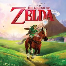 The Legend of Zelda 2015 Wall Calendar