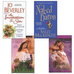 Hot Historicals Bundle: An Invitation to Sin, The Naked Baron, When His Kiss Is Wicked, and Mastering the Marquess