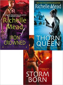Richelle Mead Dark Swan Bundle: Storm Born, Thorn Queen, and Iron Crowned