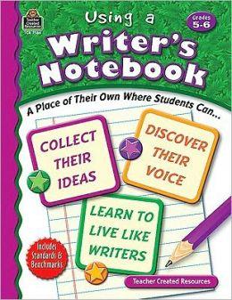 Using A Writer's Notebook: Grades 5-6