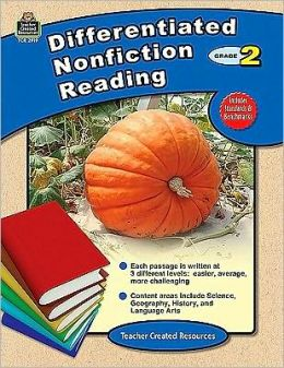 Differentiated Nonfiction Reading, Grade 2