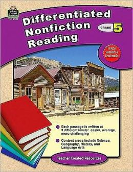Differentiated Nonfiction Reading, Grade 5