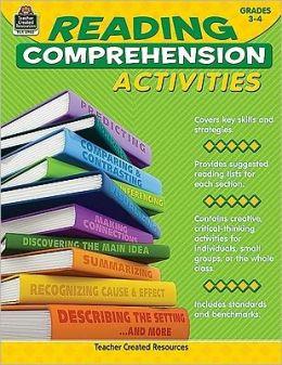 Reading Comprehension Activities Grades 3-4
