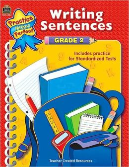 Writing Sentences Gr. 2 (Practice Makes Perfect Series)