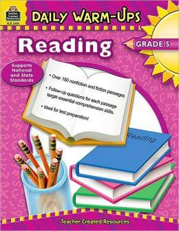 Daily Warm-Ups: Reading, Grade 5