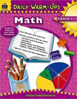 Daily Warm-Ups Math: Grade 5