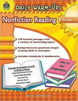 Daily Warm-Ups: Nonfiction Reading, Grade 3