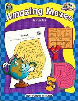 Start to Finish: Amazing Mazes Grade 2-3