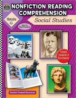 Nonfiction Reading Comprehension: Social Studies Grade 4