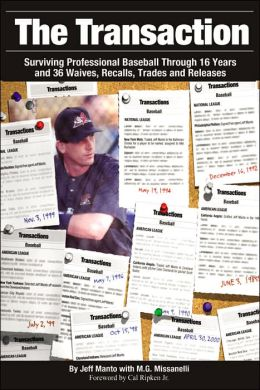 The Transaction: Surviving Professional Baseball Through 16 Years and 36 Waives Recalls Trades and Releases