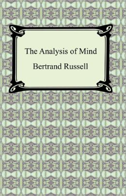 The Analysis of Mind