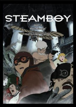 Steamboy Ani-Manga, Volume 2