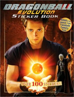 Dragonball The Movie Sticker Book