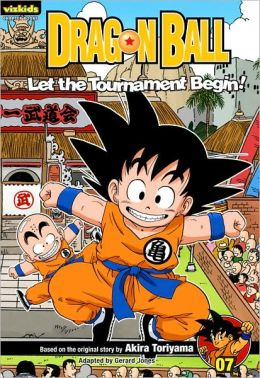 Dragon Ball: Chapter Book, Volume 7: Let the Tournament Begin!
