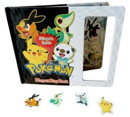 Pokemon Magnetic Play Book
