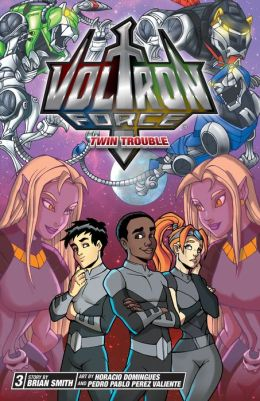Twin Trouble (Voltron Force Series #3)