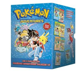 Pokemon Adventures Red & Blue Box Set (set includes Vol. 1-7)