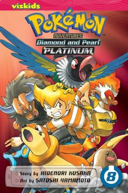 Pokemon Adventures: Diamond and Pearl/Platinum, Volume 8