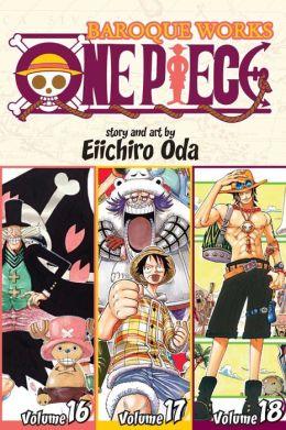 One Piece: Baroque Works 16-17-18, Volume 6 (Omnibus Edition)