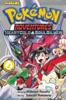 Pokemon Adventures: Heart Gold Soul Silver, Volume 2