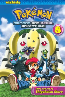 Pokemon Diamond and Pearl Adventure!, Volume 8