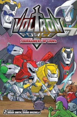 Tournament of Lions (Voltron Force Series #2)