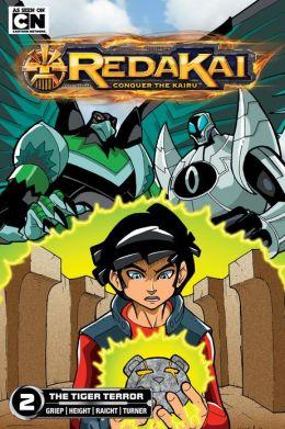 The Tiger Terror (Redakai Series #2)