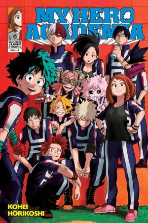 My Hero Academia , Vol. 4