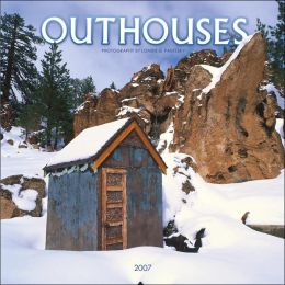 2007 Outhouses Wall Calendar
