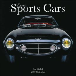 2007 Exotic Sports Cars Wall Calendar