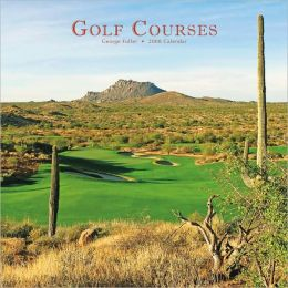 2008 Golf Courses Square Wall Calendar