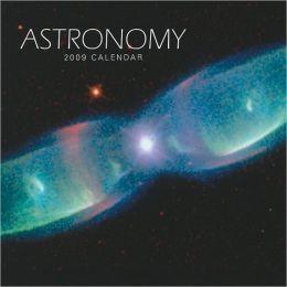 2009 Astronomy Square Wall Calendar