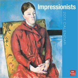 2011 Impressionists Square Wall Calendar