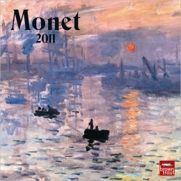 2011 Monet, Claude Mini Wall Calendar