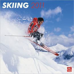 2011 Skiing Square Wall Calendar