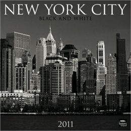 2011 New York City Black & White Square Wall Calendar