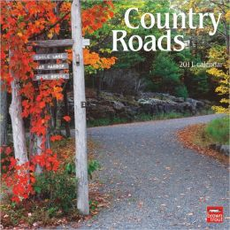 2011 Country Roads Square Wall Calendar