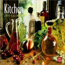 2011 Kitchen 7X7 Mini Wall Calendar