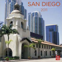 2011 San Diego Square Wall Calendar