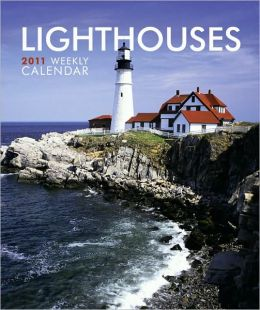 2011 Lighthouses Hardcover Weekly Engagement Calendar