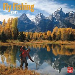 2011 Flyfishing Square Wall Calendar