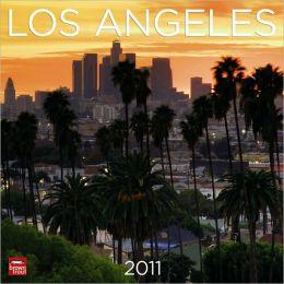 2011 Los Angeles Square Wall Calendar