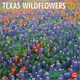 2011 Texas Wildflowers Square Wall Calendar