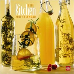 2011 Kitchen, In the Square Wall Calendar