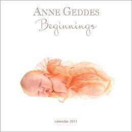 2011 Anne Geddes Beginnings Col Mini Wall Calendar