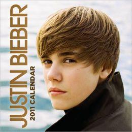 2011 Justin Bieber Square Wall Calendar