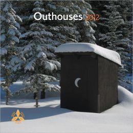 2012 Outhouses 7X7 Mini Wall Calendar