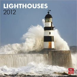 2012 Lighthouses Square 12X12 Wall Calendar